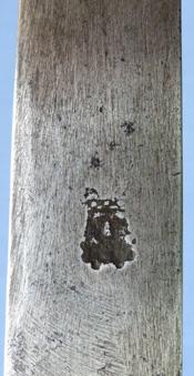 1690-hunting-hanger-kings-head-mark-7