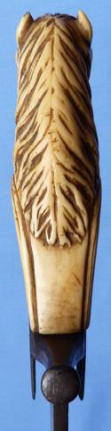 1700-horsehead-short-sword-5