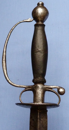 English C.1730 Gentleman's Smallsword