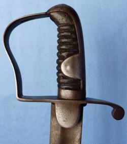 British 1796 Pattern Light Cavalry Trooper's Sword