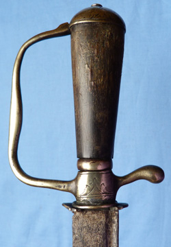 C.1750 French European Hunting Hanger Sword