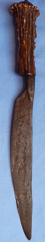 18th-century-staghorn-dagger-knife-1