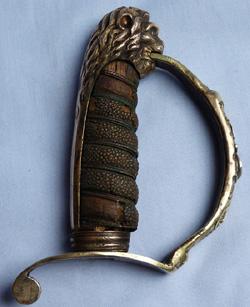 19th-century-prussian-naval-sword-hilt-1
