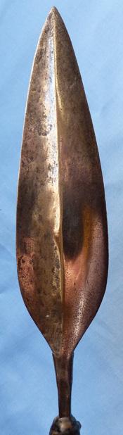 Antique African Zulu Warrior's Assegai Spear