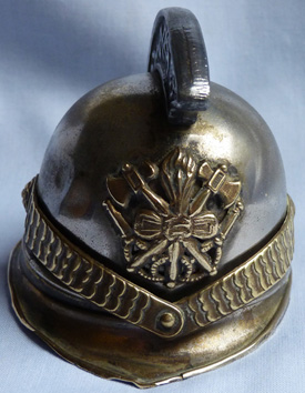 antique-french-fireman-helmet-inkwell-1