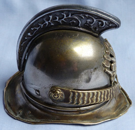 antique-french-fireman-helmet-inkwell-2