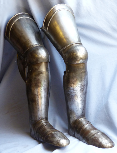 antique-leg-armour-2