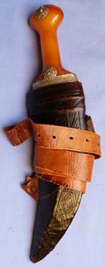 arab-20th-century-jambiya-dagger-1