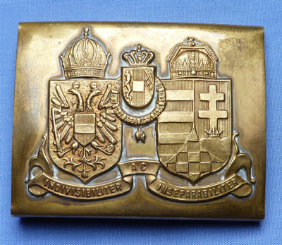 Austro-Hungarian Honved Belt Buckle