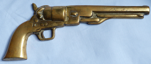 brass-colt-pistol-plaque-1