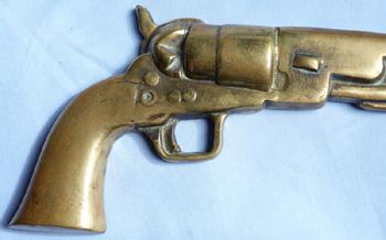 brass-colt-pistol-plaque-2
