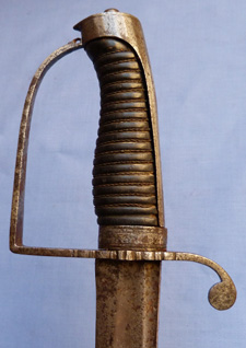 British C.1780 Infantry Officer's Hanger Sword