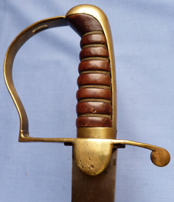 C.1800 British Infantry Flank Officer's Sword