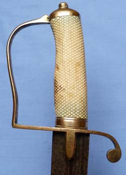 C.1800′s British Naval Type Officer's Fighting Sword