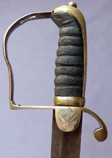 British C.1800 Naval Officer's Sword
