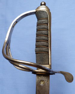 British C.WW1 1821 Pattern Royal Artillery Officer's Sword