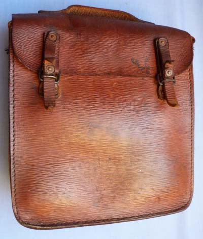 British Army C.WW2 Military Leather Case Pannier