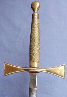 British Toye and Co. Masonic Sword