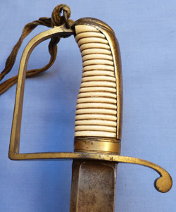 British Napoleonic Cavalry Officer's Sword