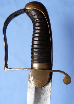 British Napoleonic Infantry Flank Officer's Sword