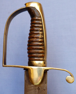British Napoleonic Foot Artillery Private's Sword