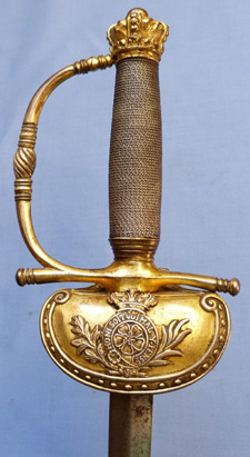 British 19th Century Senior Officer's Courtsword