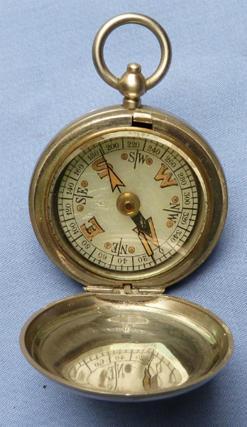British WW1 Dated 1917 Dennison Military Compass