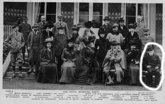 NPG x45128; 'The Royal Shooting Party'