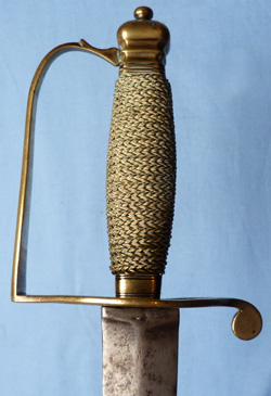 English c.1780's Infantry NCO's Sword
