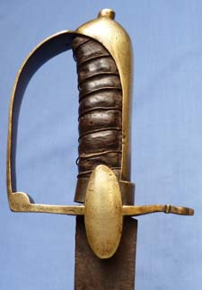 C.1770 French or Continental Infantry Hanger Sword