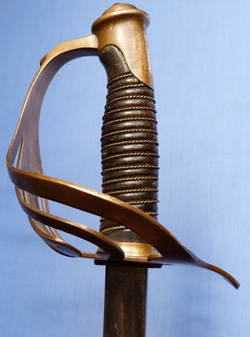French Late-19th Century Cavalry Officer's Sword