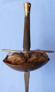 French C 1800 S Fencing Sword Foil