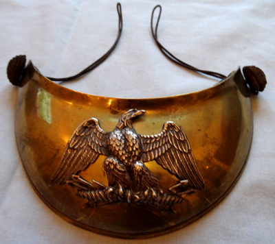 French C.1800's Infantry Officer's Gorget