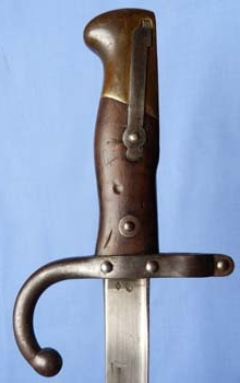 French Model 1874 Bayonet – St Etienne 1876