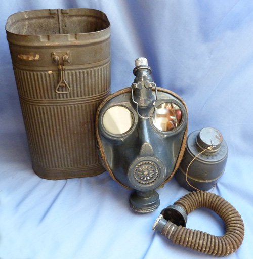 French WW2 Model 1939 Navy Gas Mask