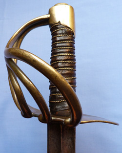 French Model ANXIII Cuirassier Trooper's Sword dated 1815