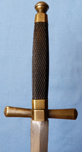 French Napoleonic Naval Officer's Dirk Dagger