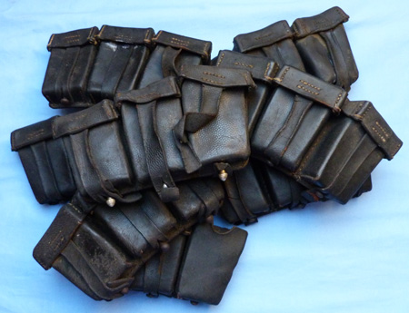 German WW2 K98 Ammo Pouches – set of 8