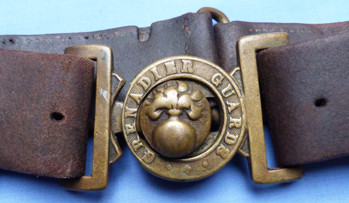 British Army 19th Century Grenadier Guards Belt and Buckle