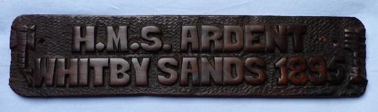 hms-ardent-1895-wooden-plaque-1