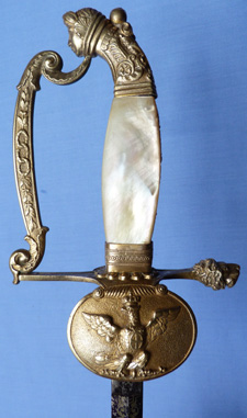 Italian 19th Century House of Savoy Officer's Smallsword
