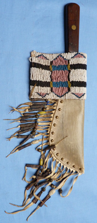 indian-plains-trade-knife-and scabbard-1