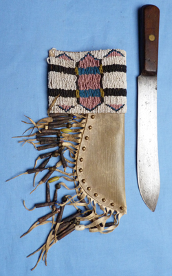 indian-plains-trade-knife-and scabbard-2