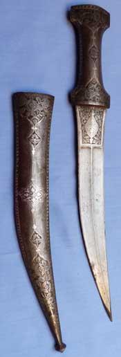indo-persian-silver-dagger-2
