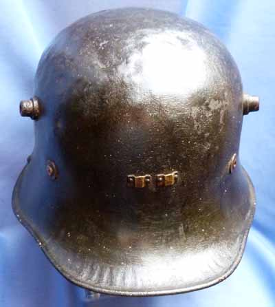Irish Army Model 1927 Vickers Steel Helmet