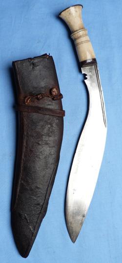 Nepalese Bone Handled Kukri