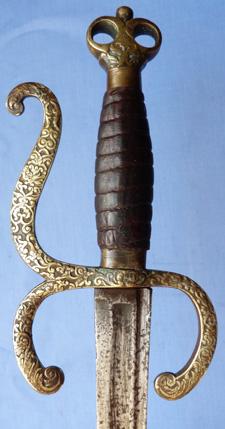 late-17th-century-hanger-sword-2