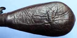 leather-19th-century-powder-shot-flask-5
