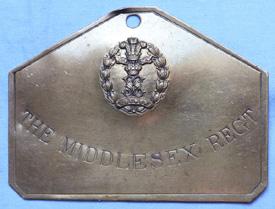 middlesex-regiment-brass-plate-1