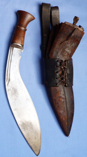 nepalese-ww2-kukri-and-scabbard-2